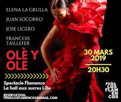 affiche la pena flamenca 2019