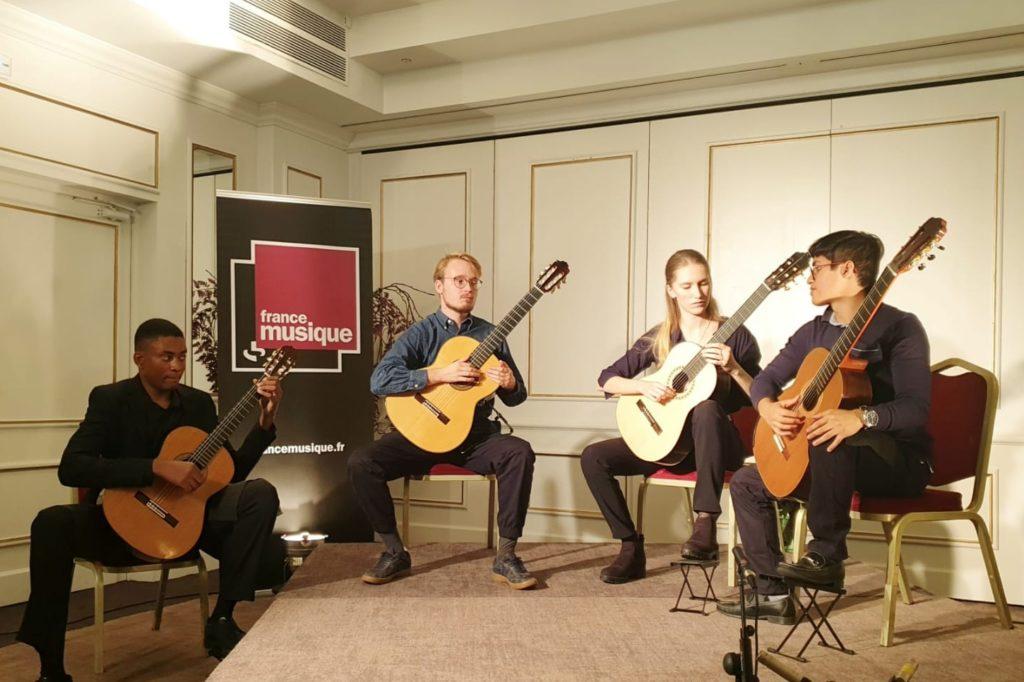 Ellipsis Quartet pour Festival Guitare en Fête Lille