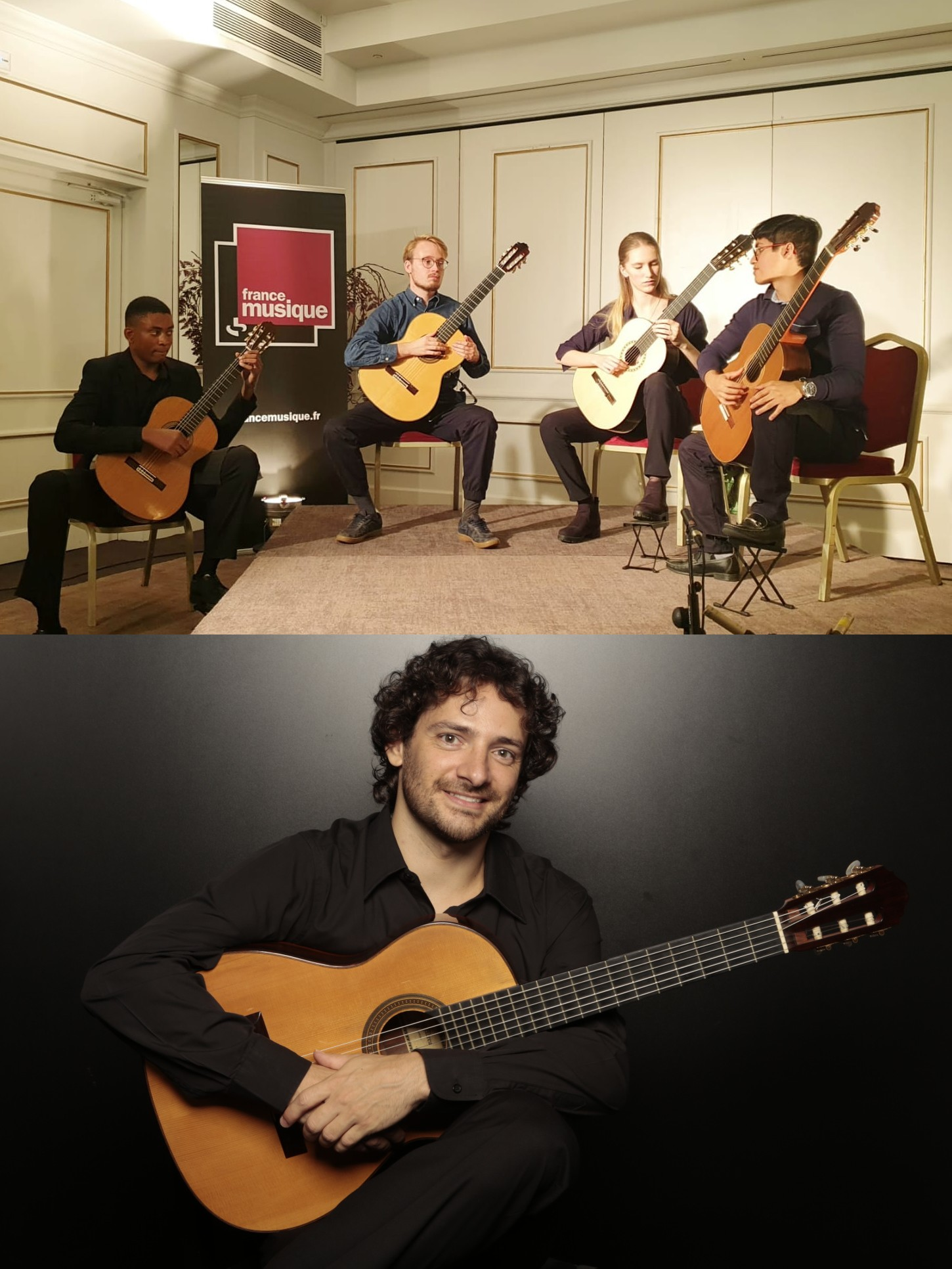 Ellipsis Quartet et Vitor Garbelotto pour Festival Guitare en Fête Lille